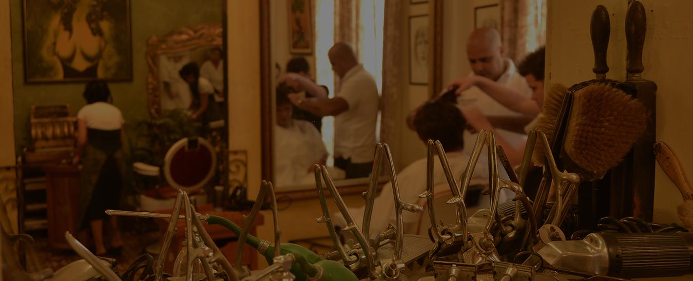 Museo vivo <br>de la peluquería y la barbería
